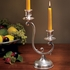 Scrolled Two-light Candleholder