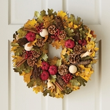 Spiced Apple Scented Wreath
