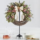 Tabletop Wreath Stand