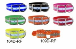 1-1/2 in wide Reflective SunGlo Dog Collars