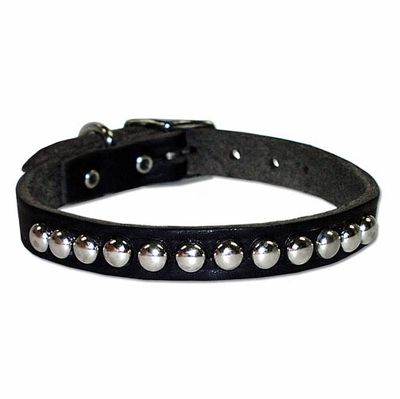 Small Leather Dog Collar with Studs