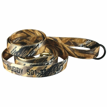 1 in x 6 ft. Personalized Camo Dog Leads