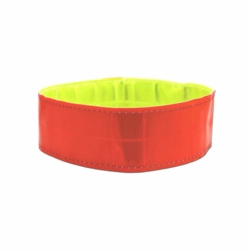 2 inch wide Elastic Reflective Band Dog Collar