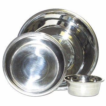 2 Quart Stainless Steel Dog Bowls