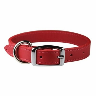 3/4 inch Wide Leather Collars