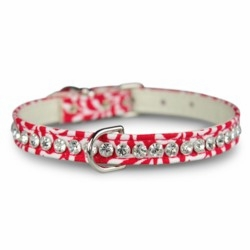 3/8 inch Fabric Dog Collar