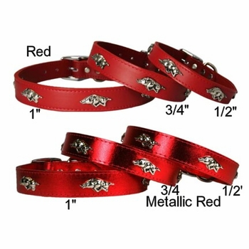 Arkansas Razorback Collars