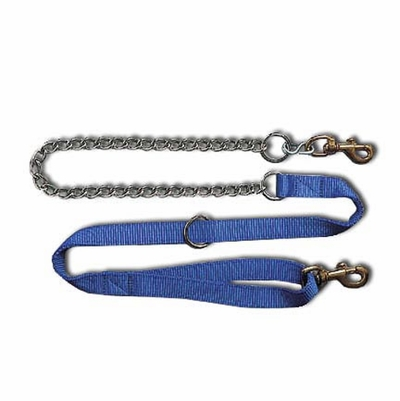 Bravo 2 Ply Nylon and  Chain Dog Lead