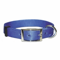 Bravo Dee in Front Nylon Dog Collar 1 Inch Wide Size 26 28 30