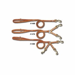 Bully Standard Leather Dog Leads