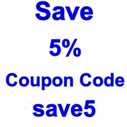 Coupon Save 5% For All Orders