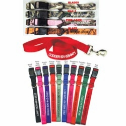 Embroidered Dog Collars and Leads