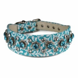 Fabric Collars with Rhinestones