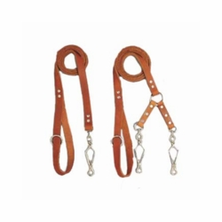 Frenchy Snap Leather Dog Leads