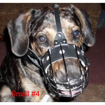 German Shepherd Wire Basket Dog Muzzles