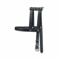 H-Style Buckle Leather Harness 5/8 Inch Wide