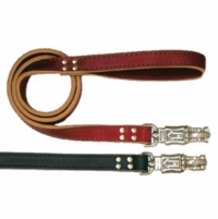 Heavy Duty 1 Inch x 72 Inch Leather Dog Lead