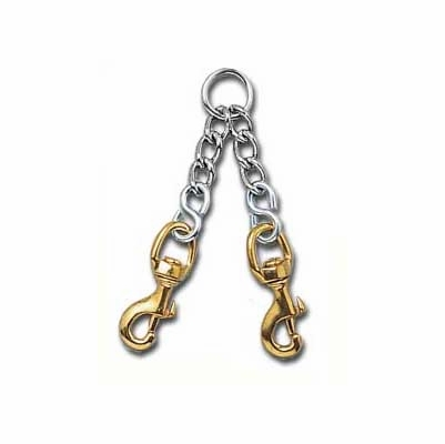 Heavy Duty Chain Couplet for 2 Dogs