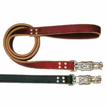 Heavy Duty Leather 1 x 48 Inch Dog Lead