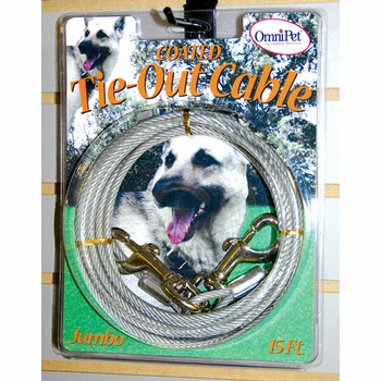 Jumbo Heavy Duty Tie Out Dog Cables