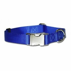 Kwik Klip Adjustable Dog Collars 3/4 with Metal buckle