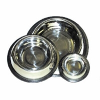 Non Tip Stainless Steel Dog Bowl