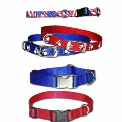 Nylon Dog Collars and USA Collars