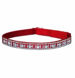 Nylon Jeweled Cat Collars