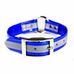 Reflective Sunglo Dog Collar 3/4 in wide