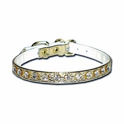 Elegant rhinestone dog collars 5/16 inch wide