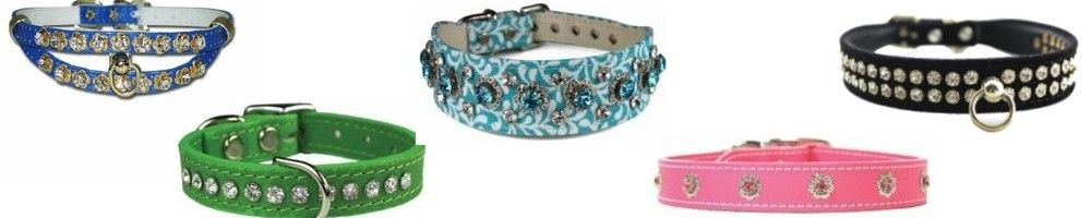 Rhinestone Dog Collars