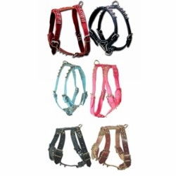 Leather Dog Harnesses with Spikes