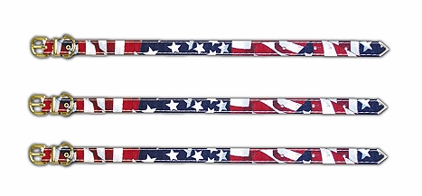 Stars and Stripes 1/2 Wide Collars