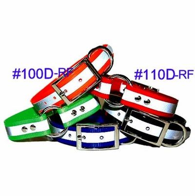 SunGlo Reflective Stripe Dog Collars
