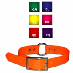 Sunglo Ring in Center Dog Collars -Long