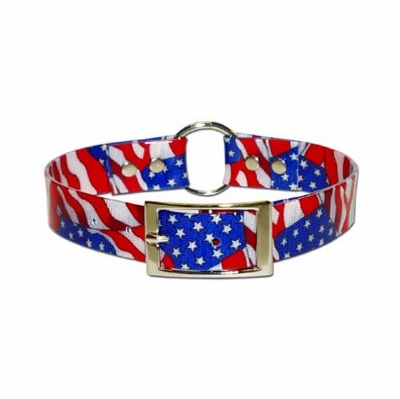 USA Sunglo Dog Collar 1 inch wide