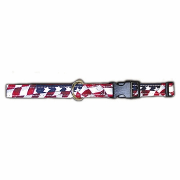 USA Stars And Stripes Dog Collars