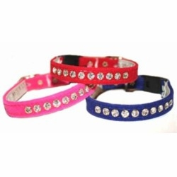 Velvet Breakaway Safety Cat Collars