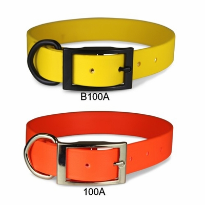 Waterproof  1 inch wide Zeta Dog Collars