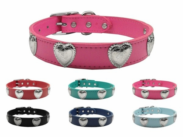 Western Hearts or Lone Star Leather Collars