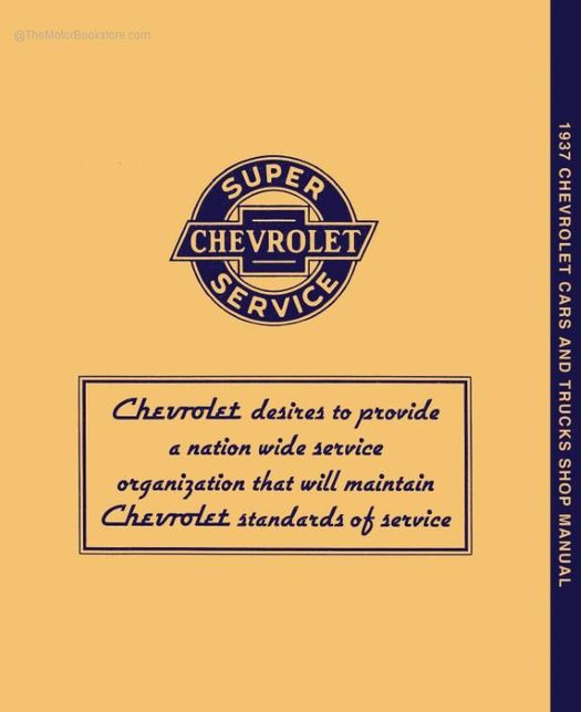 chevy truck service manuals