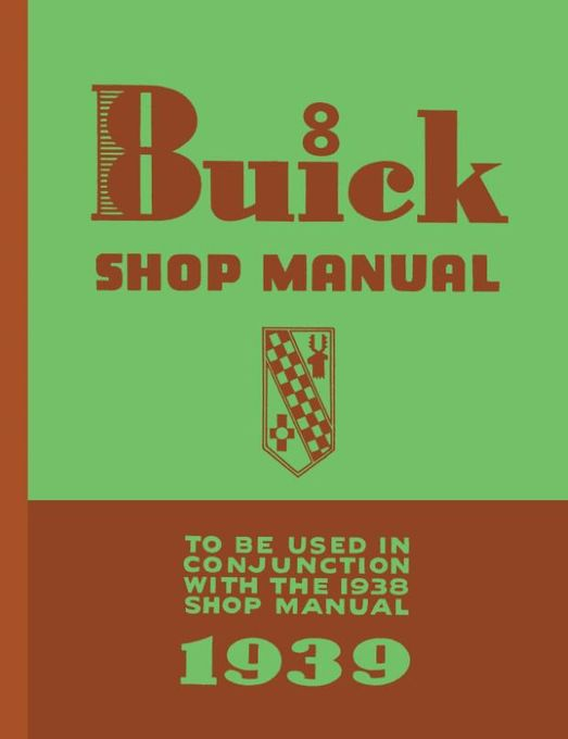 1939 Buick Shop Manual Supplement