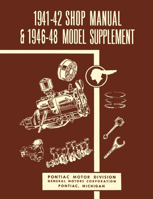 1941 - 1948 Pontiac Shop Manual