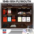 1946-1954 Plymouth OEM Manuals - CD