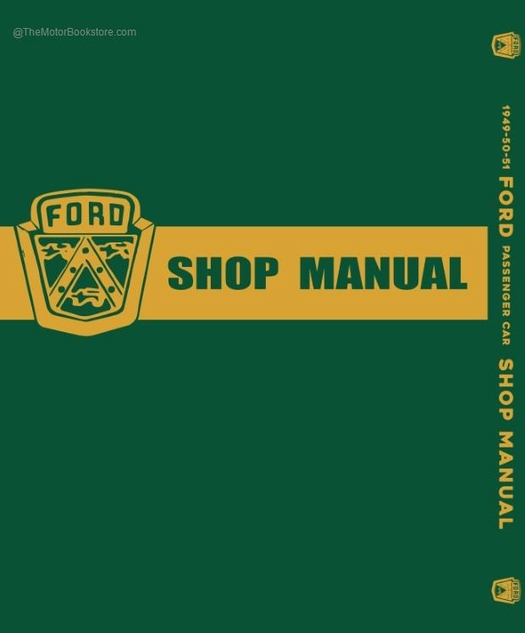 1949-1951 Ford Passenger Car Shop Manual