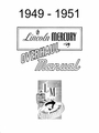 1949-1951 Lincoln, Mercury Overhaul Manual