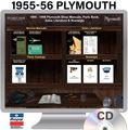 1955-1956 Plymouth OEM Manuals - CD