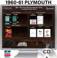 1960-1961 Plymouth OEM Manuals - CD