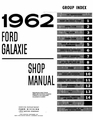 1962-1963 Ford Galaxie Shop Manual