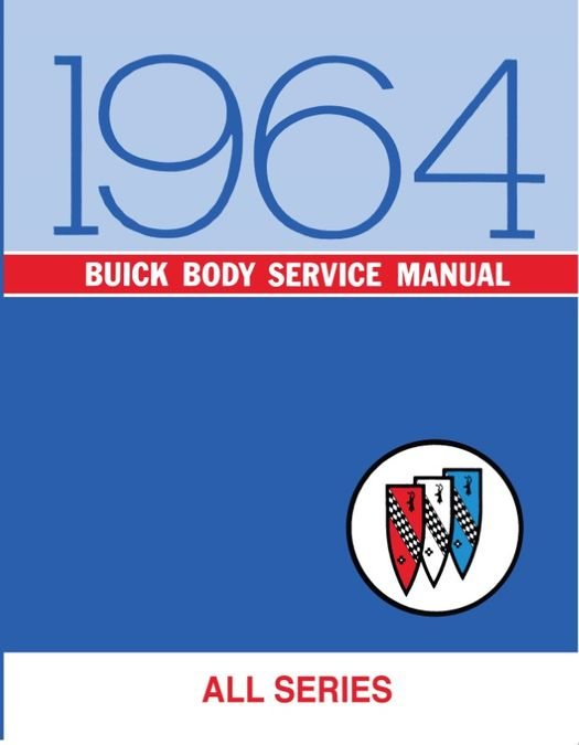 1964 Buick Skylark and Special Factory Assembly Manual 64 Sportwagon